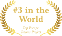 Winner #3 in the World, Top Escape Rooms Project Enthusiasts Choice Awards 2018